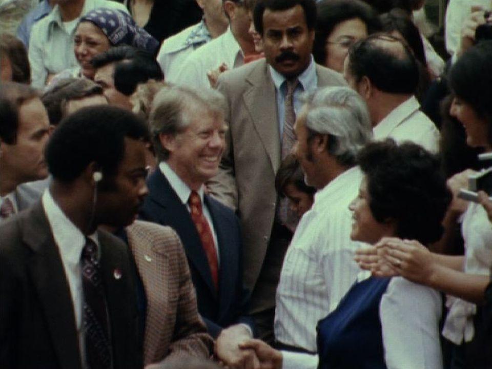 Campagne de Jimmy Carter en 1976. [RTS]