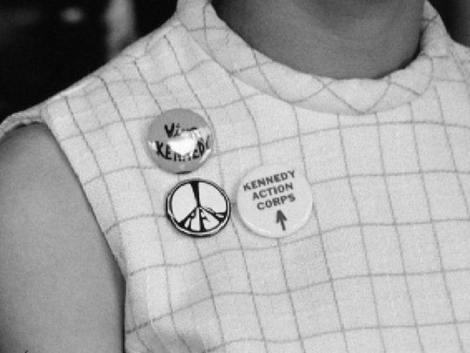 Bénévole pour la campagne de Robert Kennedy en 1968. [RTS]