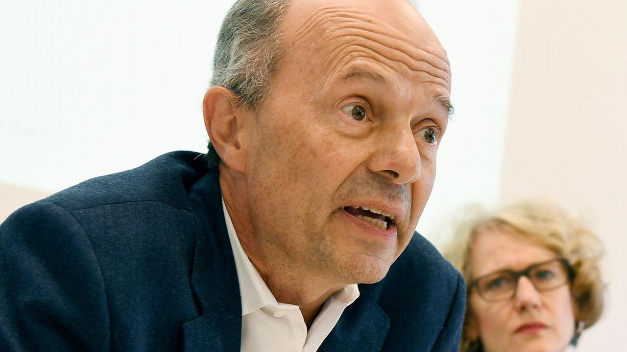 Richard Wolff, directeur de la Sécurité de la Ville de Zurich. [Walter Bieri - Keystone]