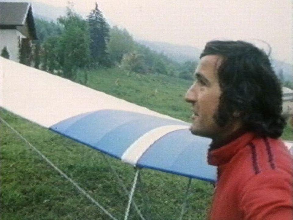 Etienne Rithner en 1989. [RTS]