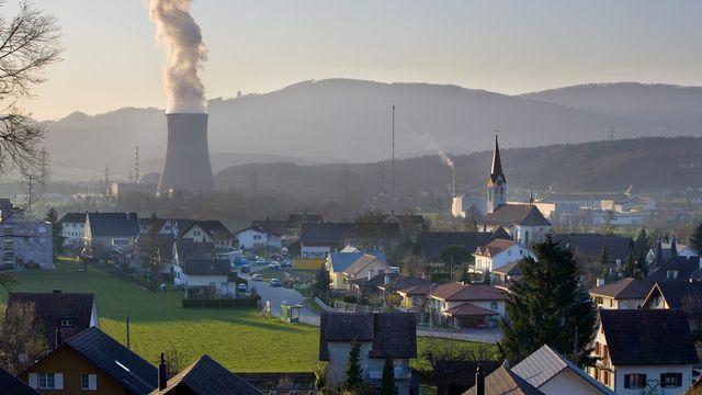La centrale nucléaire de Gösgen, dans le canton de Soleure. [Martin Ruetschi - Keystone]