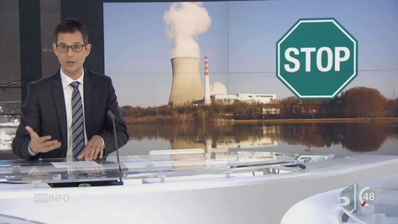 La Suisse va devoir décidé si elle veut sortir du nucléaire [RTS]