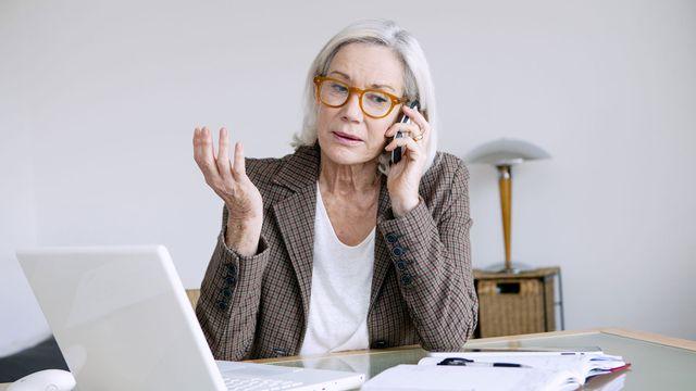 Les seniors peinent à trouver des emplois. [B. Boissonnet - BSIP]
