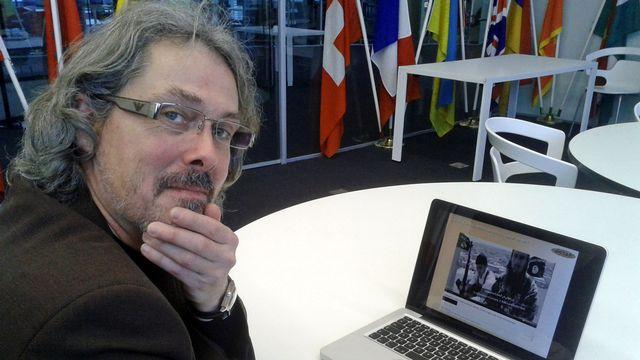 Jean-Paul Rouiller, directeur du Centre d'analyse du terrorisme (GCTAT) à Genève. [Simon Corthay - RTS]