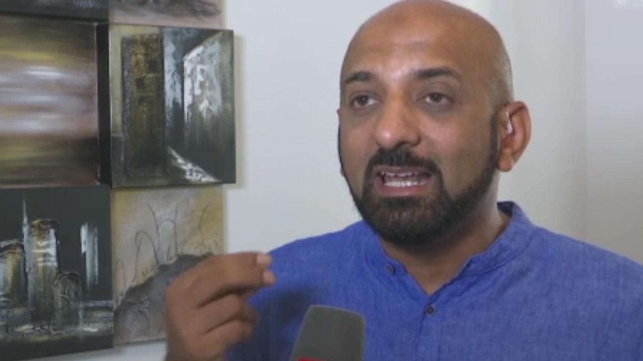 Le journaliste Shams Ul-Haq. [SRF]