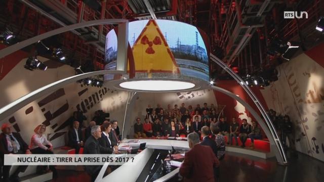 Nucléaire: tirer la prise dès 2017 [RTS]