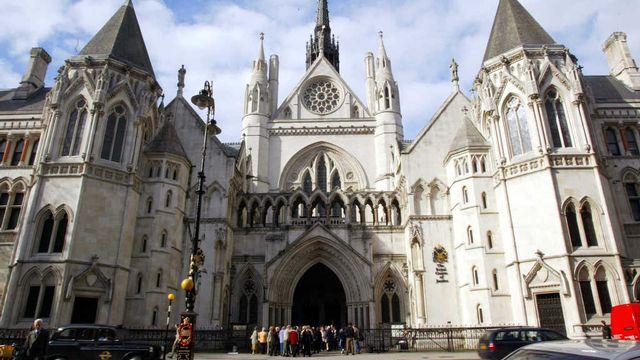 La Haute Cour de justice d'Angleterre et du Pays de Galles, à Londres. [Adrian Dennis - EPA/Keystone]