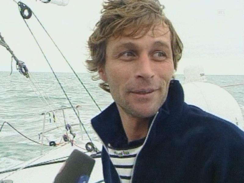 Voile : Bernard Stamm au Vendée Globe 2000
