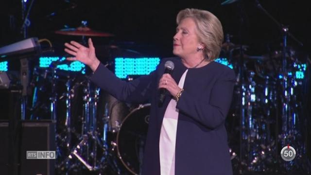 USA - Elections américaines: les candidats entament leur dernière ligne droite [RTS]