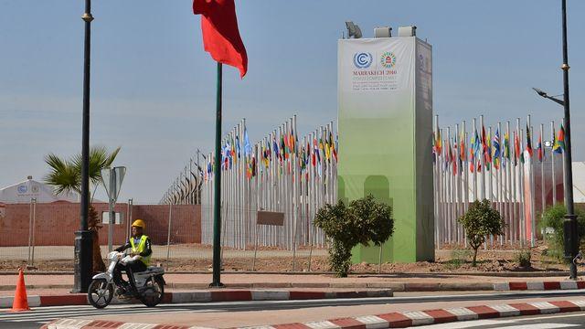La conférence se déroule à Marrakech. [Stringer/AFP]