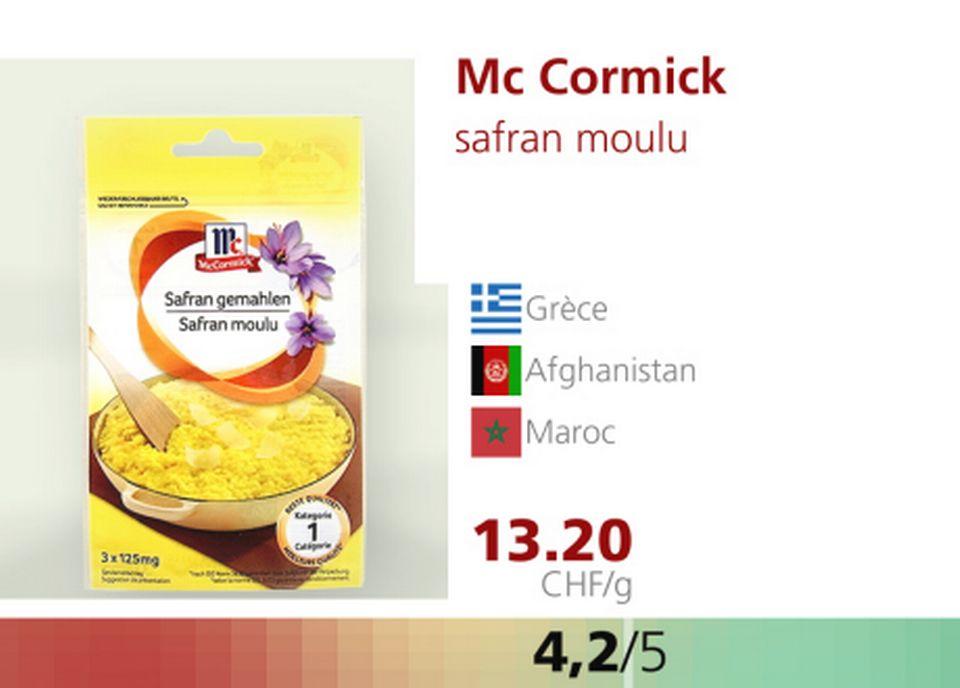 Mc Cormick. [RTS]