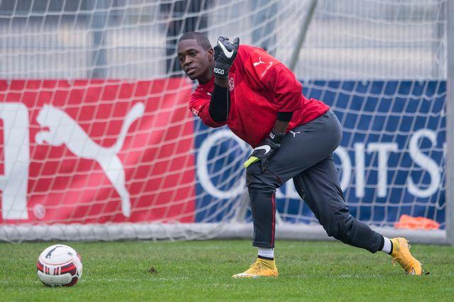 Yvon Mvogo fait son retour en sélection nationale. [Ennio Leanza - Keystone]