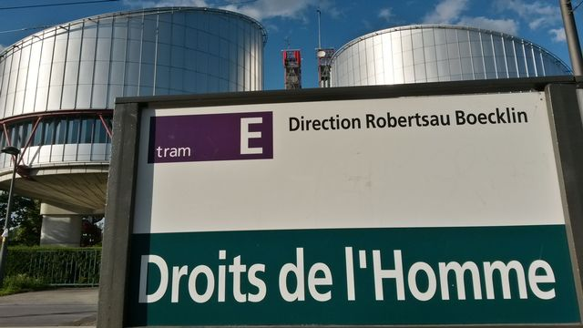 La Cour européenne des droits de l'homme (CEDH) à Strasbourg. [Citizenside/Alpha Cit/AFP - AFP]