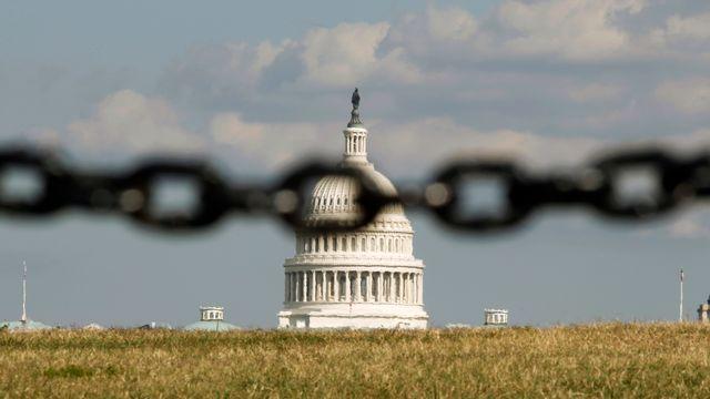 Le Capitole à Washington, siège du Sénat américain et de la Chambre des représentants. [Kevin Lamarque - Reuters]