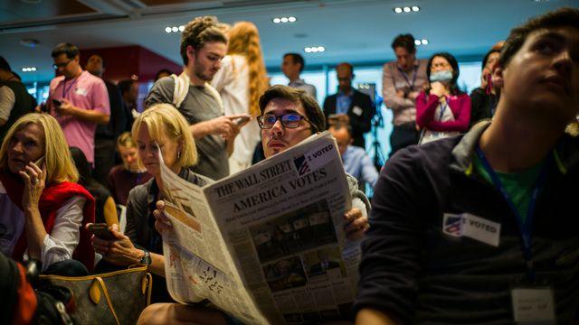 Les éditorialistes des principaux journaux américains partagent leurs craintes au sujet de la présidence de Donald Trump. [Anthony Wallace - AFP]
