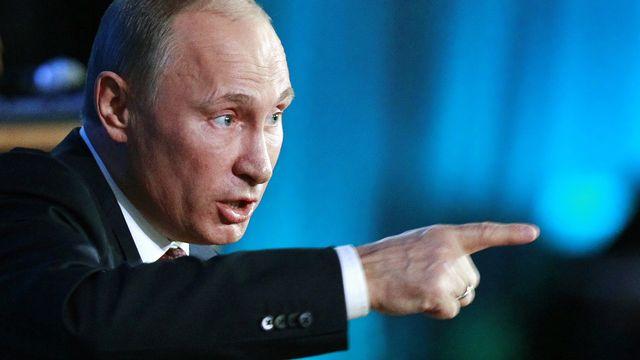 Vladimir Poutine. [Maxim Shemetov - Reuters]