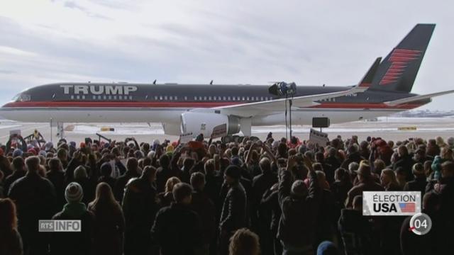 Présidentielle américaine: Trump est loin d'être transparent sur ses revenus [RTS]