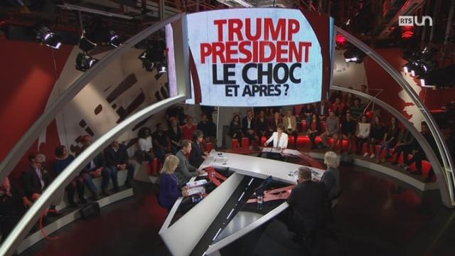 Trump président: le choc, et après ? [RTS]