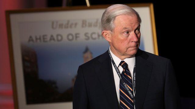 Jeff Sessions, sénateur de l'Alabama. [AP Photo/Manuel Balce Ceneta - key]
