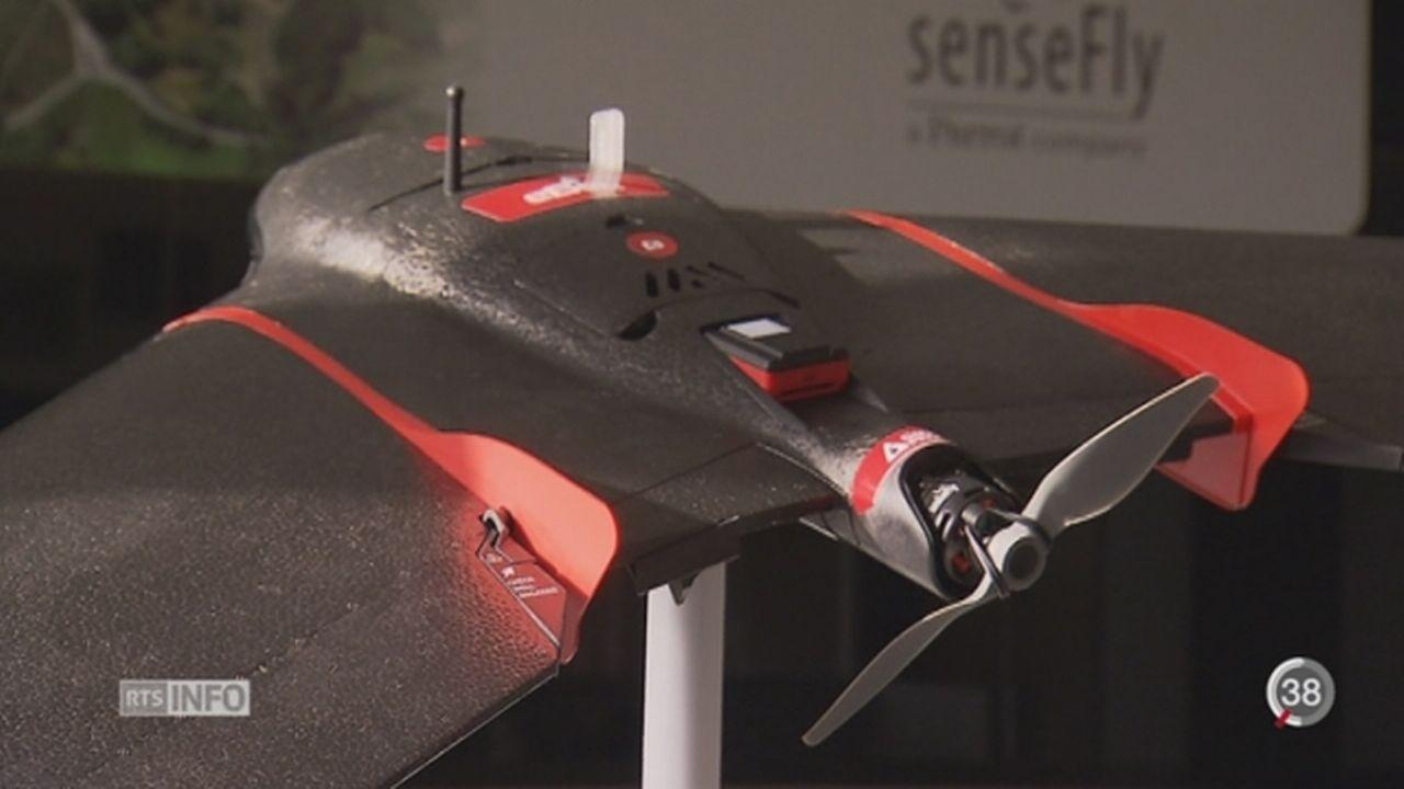 La Suisse veut développer son industrie du drone [RTS]