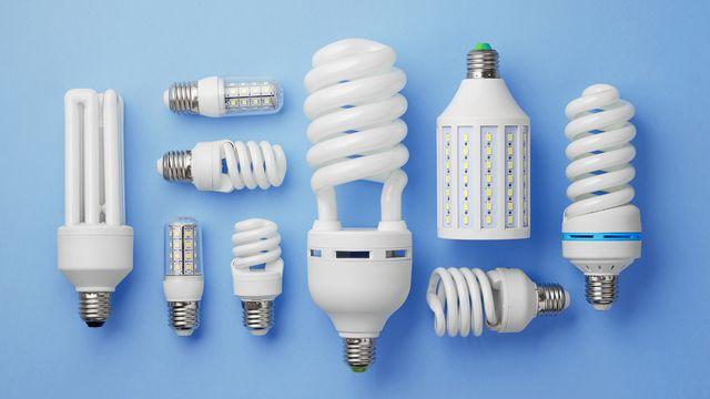 Collection d'ampoules LED [bogdandimages - Fotolia]