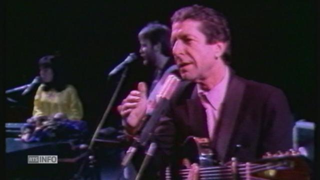 """Leonard Cohen: """"Je ne me suis jamais considéré comme un poète ou un chanteur"""" [RTS]"""