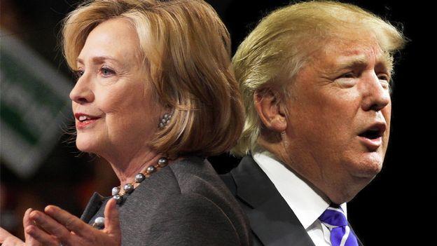 Hillary et Donald à la Maison Blanche - L'intégrale