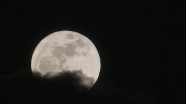 Pleine Lune en Suisse romande, 2010. [RTS]