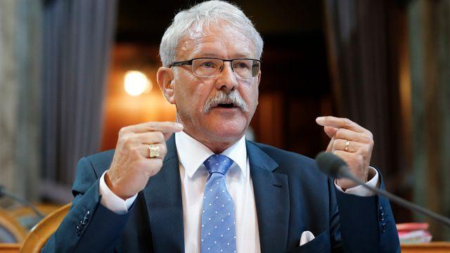 Beat Vonlanthen, conseiller d'Etat et conseiller aux Etats fribourgeois. [Peter Klaunzer - keystone]