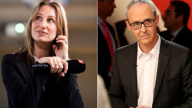 Adèle Thorens et Benoît Genecand. [Keystone]