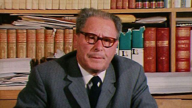 Maurice Zermatten parle du cancer en 1970. [RTS]
