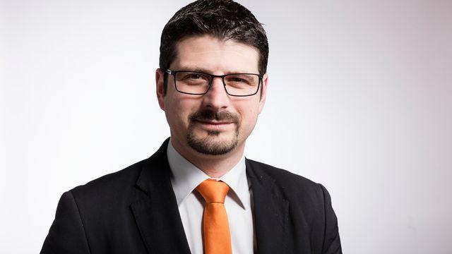 Le conseiller national PDC valaisan Yannick Buttet. [Gaëtan Bally - Keystone]