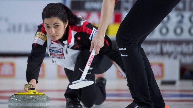 Binia Feltscher est en quête d'un deuxième doublé Mondial - Européens. [Jonathan Hayward - Keystone]