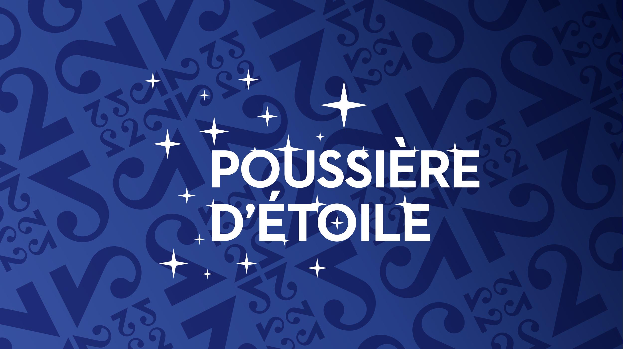 Logo Poussière d'étoile [RTS]