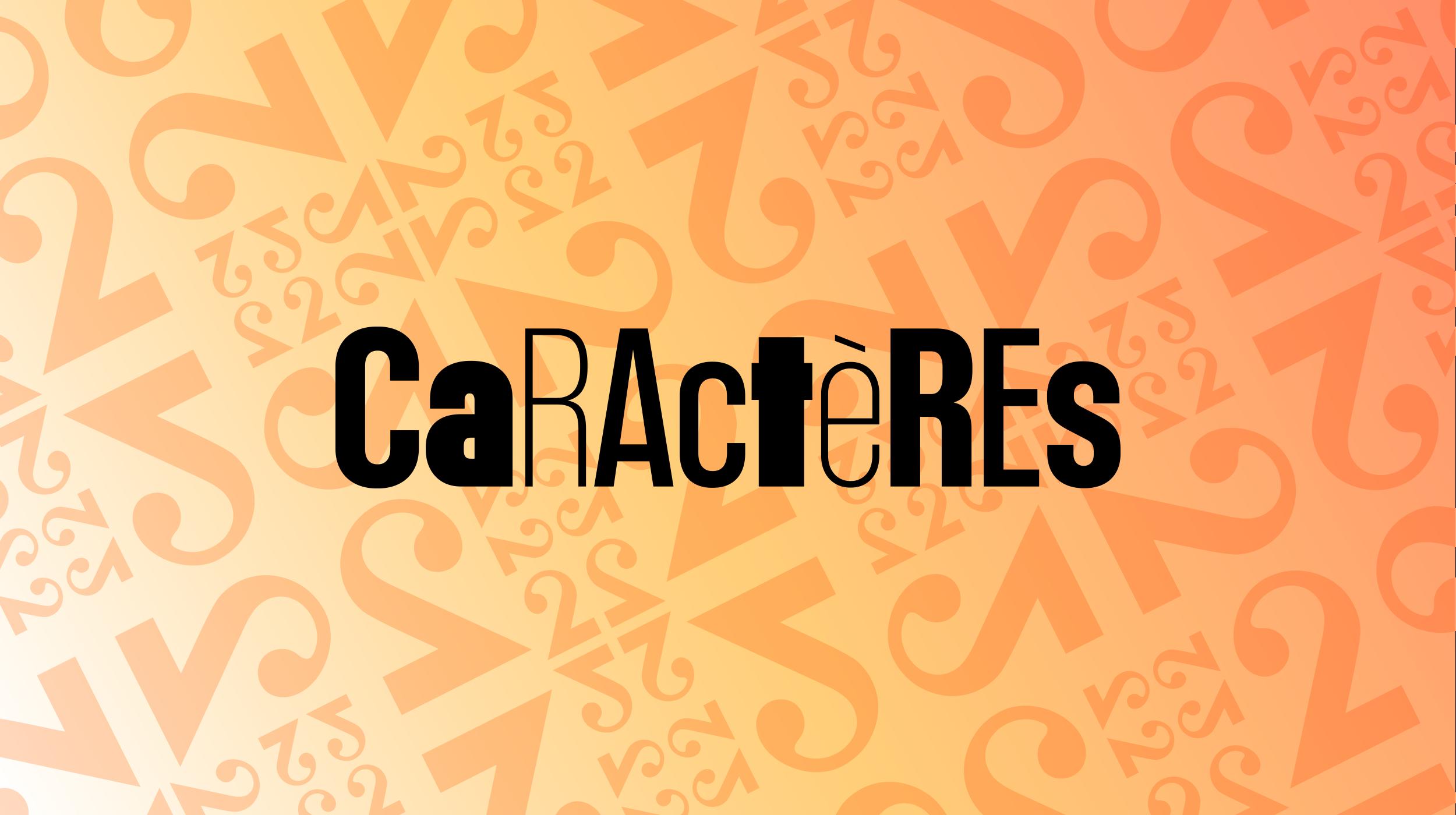 Logo Caractères [RTS]