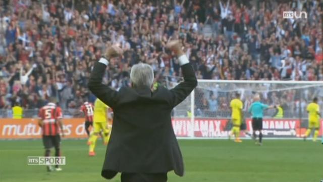 Football: Lucien Favre cartonne à Nice [RTS]