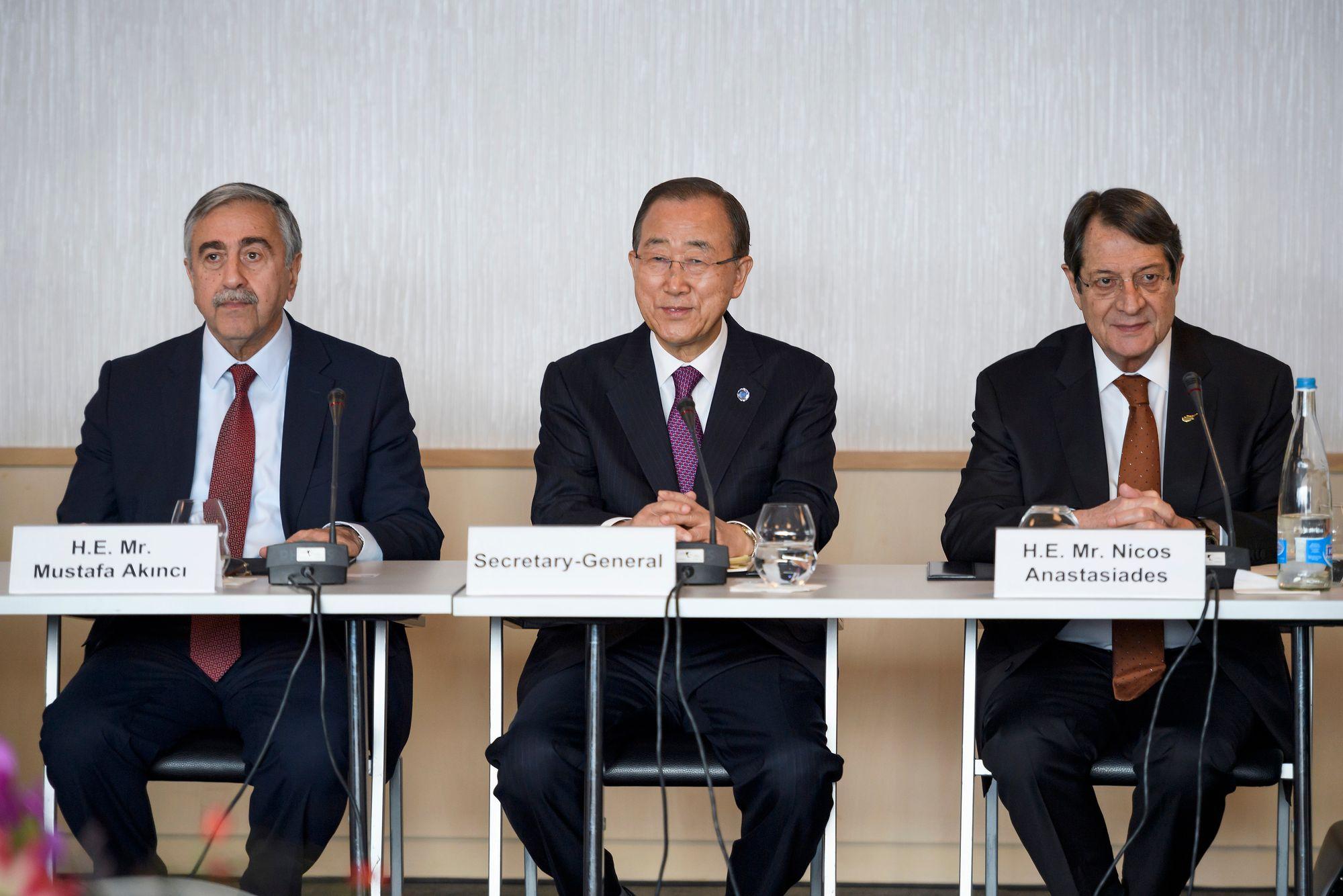 Les négociations continuent en vue d'une réunification — Chypre