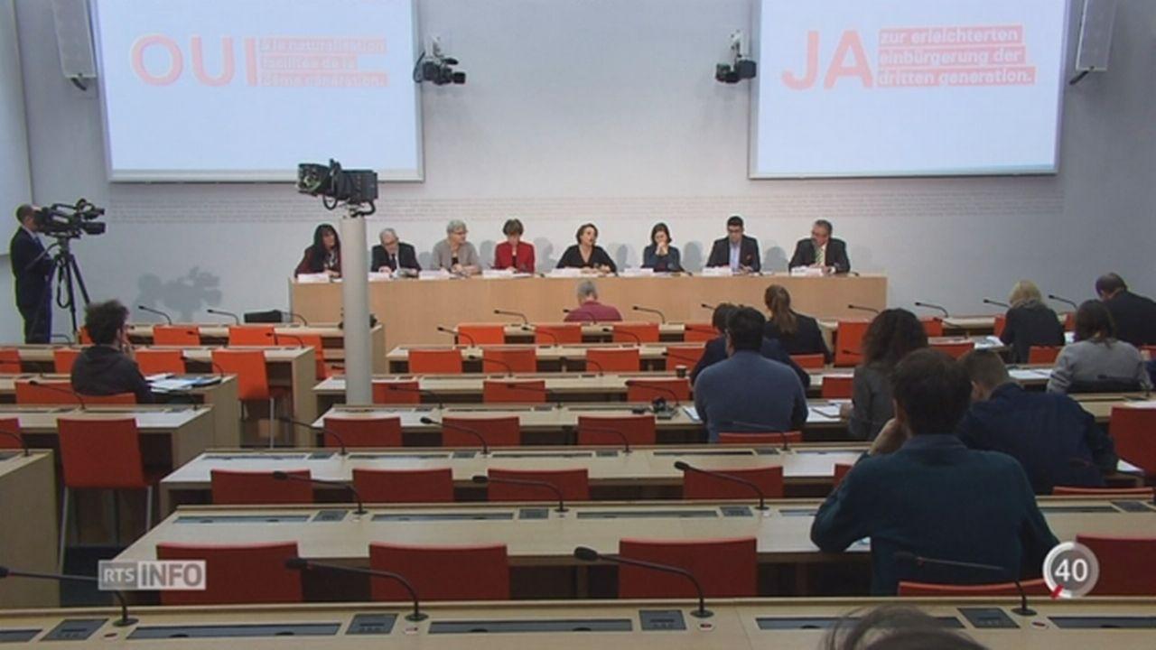Le débat relatif à la naturalisation facilitée est lancé [RTS]