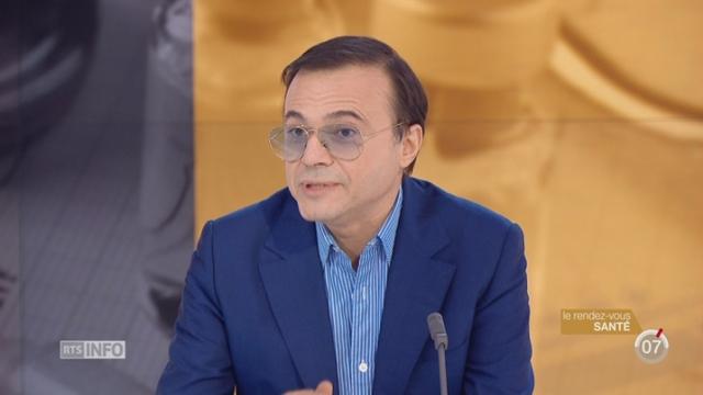 Le rendez-vous santé: Bertrand Burgalat évoque les spécificités du diabète de type 1 [RTS]