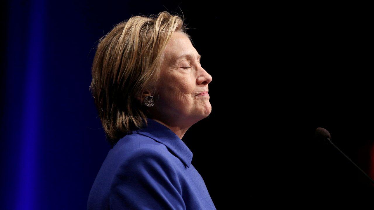 La candidate démocrate malheureuse Hillary Clinton a largement devancé son rival quant au nombre de voix. [Joshua Roberts - reuters]
