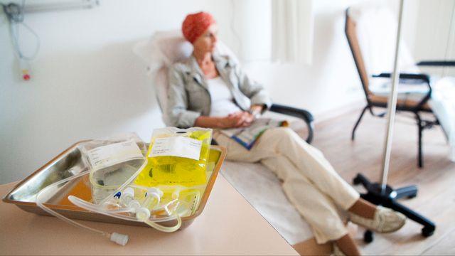 La chimiothérapie est un traitement lourd. [AMELIE-BENOIST/BSIP - AFP]
