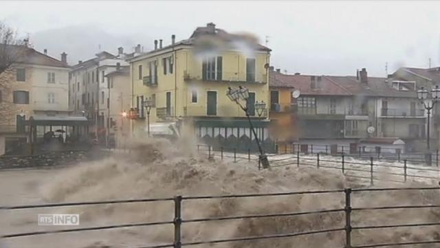 Inquiétude dans le nord-ouest après de fortes pluies — Inondations en Italie