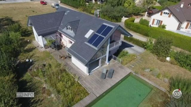 Le label Minergie a pour priorité l'économie d'énergie et notre bien-être [RTS]