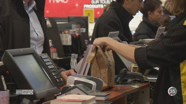 """Plusieurs magasins suisses ont profité de la vague du """"Black Friday"""" américain [RTS]"""