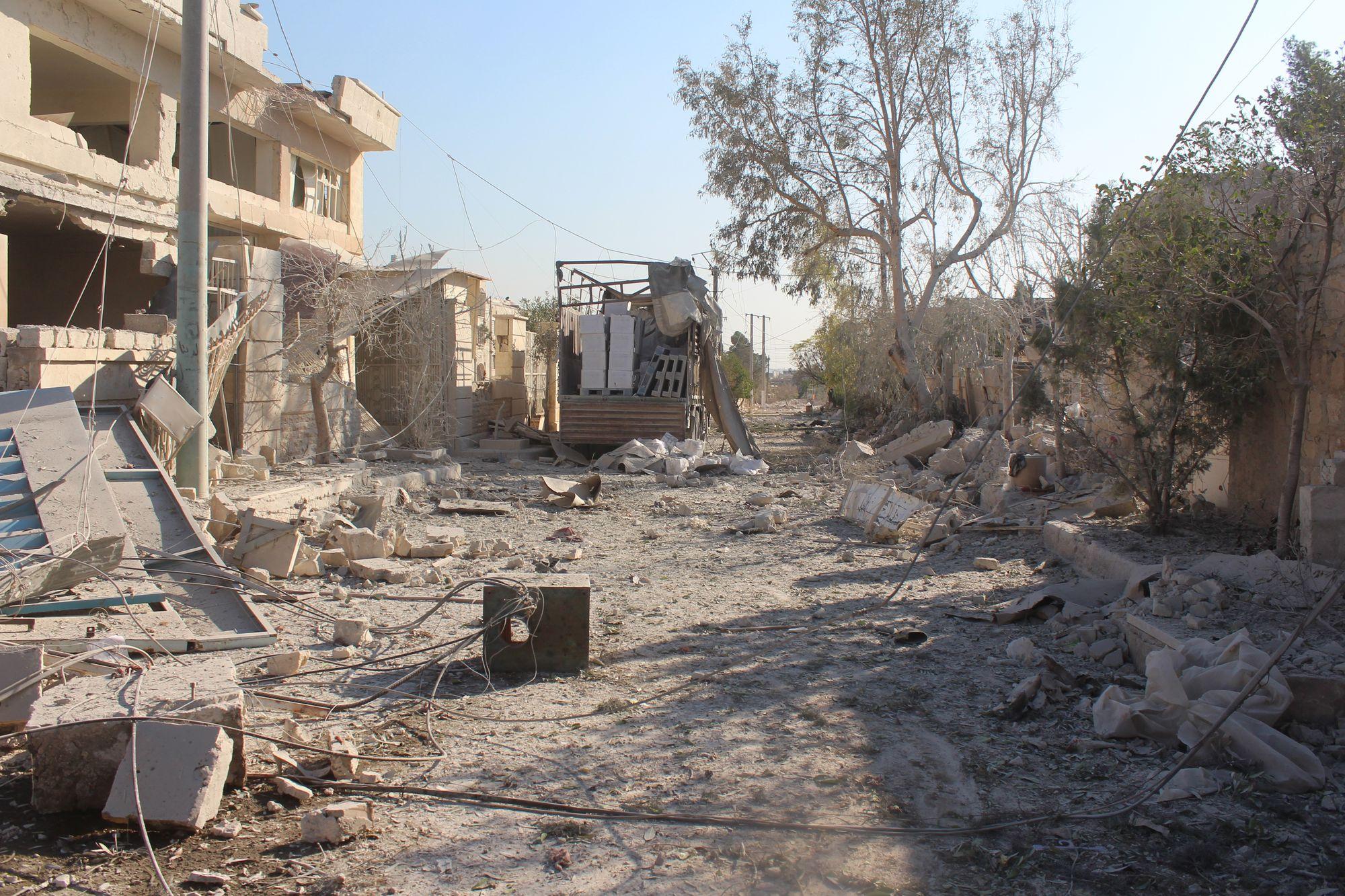 50 000 personnes ont fui Alep-Est en quatre jours — Syrie