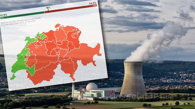 La centrale nucléaire de Leibstadt, dans le canton d'Argovie. [Alessandro Della Bella - Keystone - RTS]