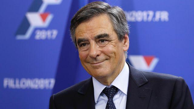 Le candidat à la présidentielle française François Fillon. [Thomas Samson - AFP]