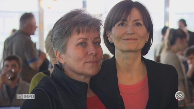 Votations - Nucléaire: les Verts ont voulu croire à la victoire jusqu'au bout [RTS]