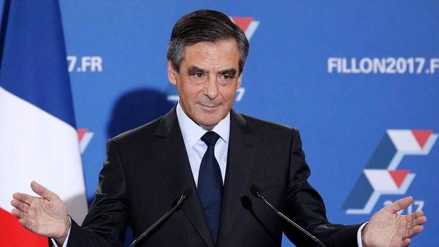 François Fillon est revenu de loin face à ses concurrents. [Yoan Valat - EPA/Keystone]