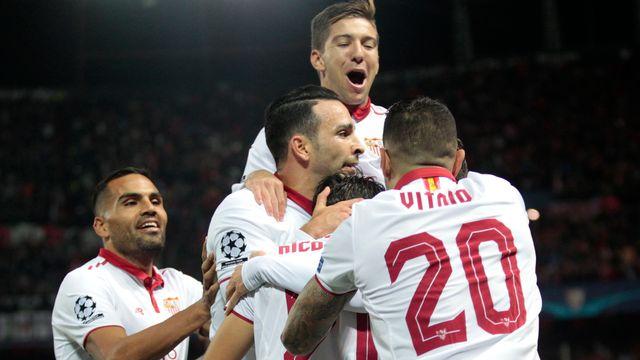 Ligue des Champions UEFA-Olympique Lyonnais - FC Séville-6e journée [Miguel Morenatti - Keystone]